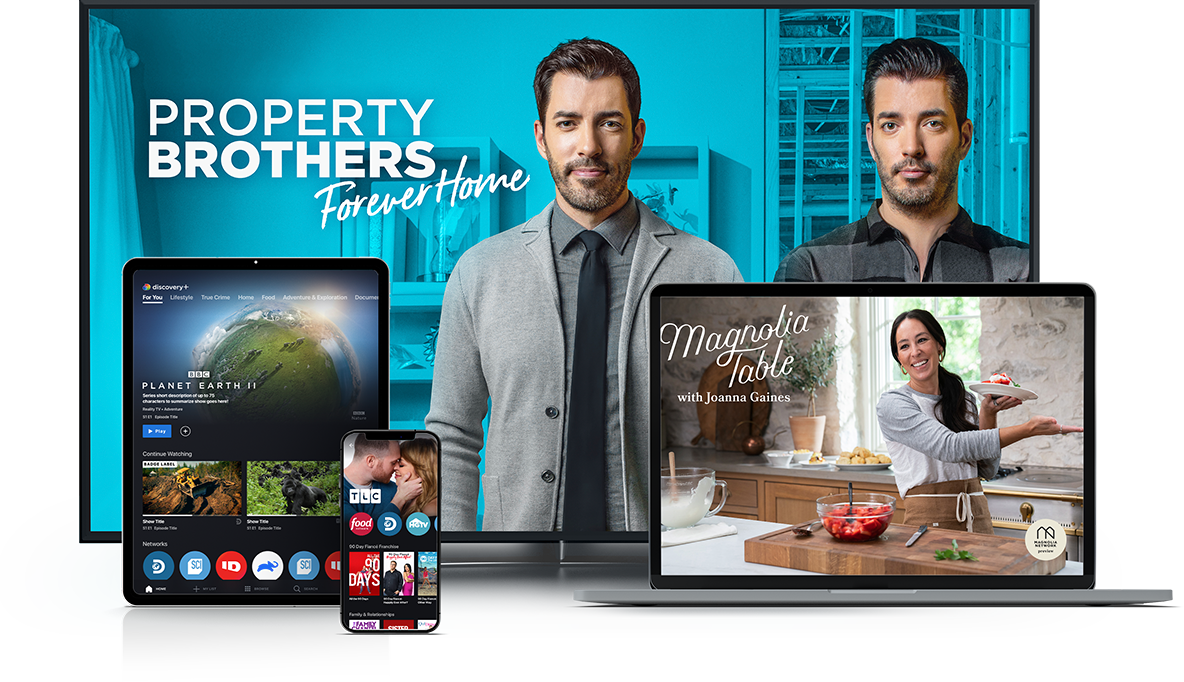 Watch discovery+ on your favorite devices